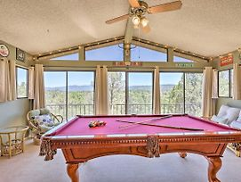 Spacious Prescott Home W/Pool Table+Mtn Views photos Exterior