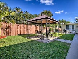Centrally-Located Pompano Beach Escape W/ Gazebo! photos Exterior