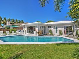 Upscale 3Br Wilton Manors House W/Heated Pool! photos Exterior