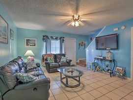 Panama City Townhome W/Shared Pool-Steps To Beach! photos Exterior