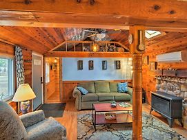 New! 'Clever Bear Cabin' - Walk To Higgins Lake! photos Exterior