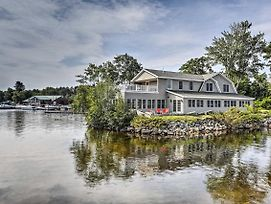 New-Lakefront Naples Home W/Dock, Billiards, Views photos Exterior
