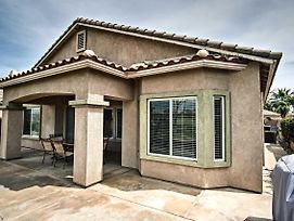 New! Indio House On Fairway W/ Country Club Perks! photos Exterior
