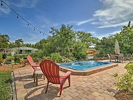 Home On Canal W/ Pool, 3 Mi. To Hollywood Beach! photos Exterior