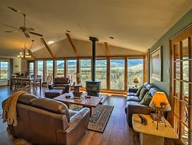 'Elk Mountain' Red Lodge Hillside House W/Hot Tub! photos Exterior