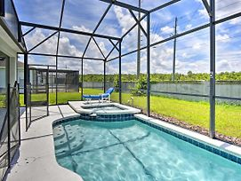 Spacious Kissimmee Villa W/Pool - 10 Min To Disney photos Exterior