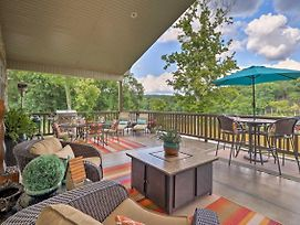 New! Riverfront Mountain Home W/ Spacious Deck! photos Exterior