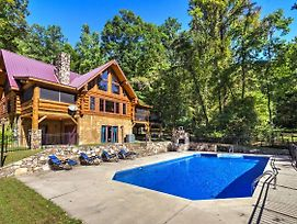 Upper Lodge Brevard Cabin On 80 Acres W/ Pool! photos Exterior