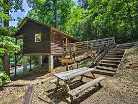 New Cozy 'Gone Hiking' Bryson City Cabin W/Hot Tub photos Exterior
