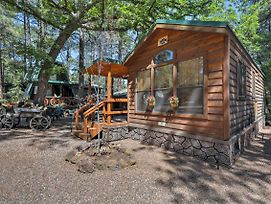 New Pinetop Cabin W/Patio-1 Mile From Main Street photos Exterior