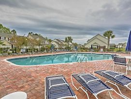 North Myrtle Beach Townhome W/Lanai & Pool Access photos Exterior