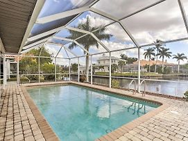 Cape Coral House W/ Private Pool & Dock - Views! photos Exterior