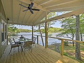 Serene Lakefront Harrison Cottage W/ Dock & Views! photos Exterior