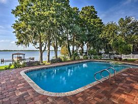 Winter Haven Home With Dock & Hot Tub! photos Exterior