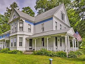 Giant Victorian Home Near Cooperstown With Fire Pit! photos Exterior