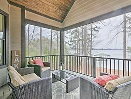 Seneca Home W/Porch & Private Dock On Lake Keowee! photos Exterior