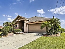 Waterfront Cape Coral Home W/ Dock, Pool & Lanai! photos Exterior