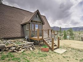 Rustic Home W/Fire Pit & Mtn Views -30 Min To Rmnp photos Exterior