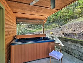 Scenic Asheville Area Cabin W/Fireplace & Hot Tub photos Exterior