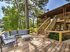 Riverfront Houston House W/ Deck & Private Dock! photos Exterior