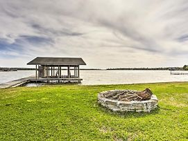 Eustace Home On Cedar Creek Lake W/Dock & Fire Pit photos Exterior