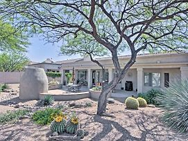 Oro Valley House W/ Outdoor Fireplace & Mtn Views! photos Exterior