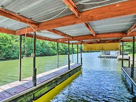 Waterfront Hot Springs Cabin With Deck And Private Dock photos Exterior