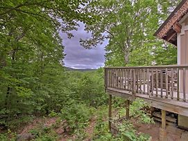 Conway Area Chalet W/ Mountain Views & Fire Pit! photos Exterior