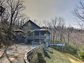 Blue Ridge Mtn Cabin W/Huge Decks, Hot Tub & Views photos Exterior