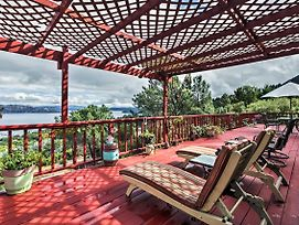 Spacious Kelseyville Home With Large Lakefront Deck! photos Exterior
