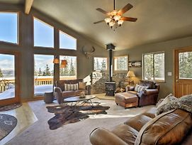 Fairplay Cabin W/ Mtn View - 30 Mins To Breck! photos Exterior
