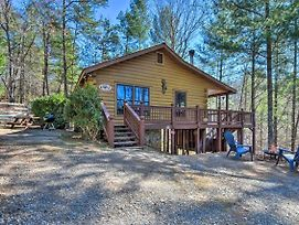 Pet-Friendly Ellijay Cabin W/Hot Tub In Ntl Forest photos Exterior