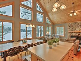 Cozy Waterfront Fife Lake Cottage On The Lake! photos Exterior