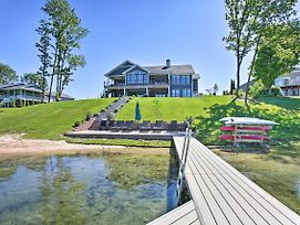 Waterfront Silver Lake Home W/ Private 40' Dock! photos Exterior