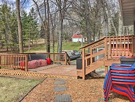 Brainerd Lakes Cabin On 2-Acres W/Dock & Fire Pit! photos Exterior