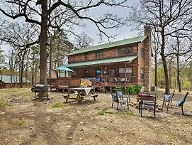 Beavers Bend State Park Cabin W/Hot Tub & Fire Pit photos Exterior