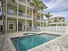 Panama City Beach Home W/ Private Dock & New Pool! photos Exterior