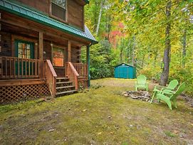 New-Rustic Bryson City Cabin W/Fire Pit By Fishing photos Exterior