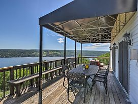 Lovely Finger Lakes Home W/Lake Views & Deck! photos Exterior