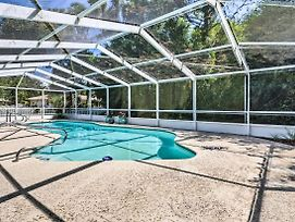 Quiet Homosassa Home W/ Private Pool & Lanai! photos Exterior