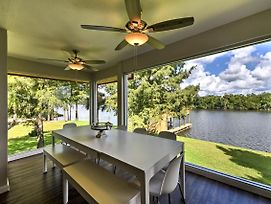 San Jacinto River Home W/Deck, Games & Grill! photos Exterior