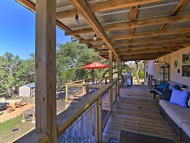 Private Hill Country House W/Deck On 7 Acres! photos Exterior