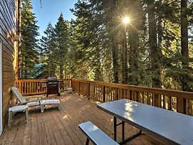Rustic Tahoe Home With Hot Tub Near Squaw Valley photos Exterior