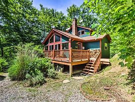 Bryson City Cabin W/Deck, Grill & Fire Pit! photos Exterior