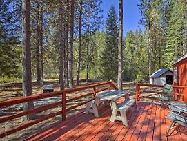 Rustic Mccloud Home W/ Deck & On-Site Stream! photos Exterior