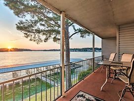 Sunset-View Resort Condo On Lake Hamilton! photos Exterior