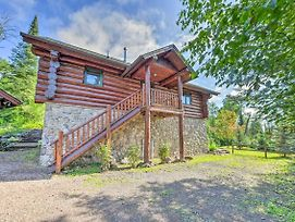 Lutsen Cabin W/ Fire Pit, Patio & Deck! photos Exterior