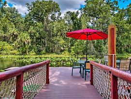 New-Riverfront Orlando Area Cabin In Wekiwa St Prk photos Exterior