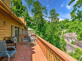 Lake Toxaway Condo W/Deck & Waterfall Views! photos Exterior