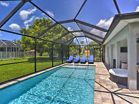 Cape Coral Home With Lavish Patio And Private Pool photos Exterior